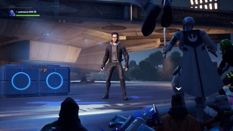 Проблемы с серверами, неинтересный фрагмент и торжество Палпатина: показ эксклюзивной сцены из фильма Star Wars: The Rise of Skywalker в Fortnite [видео]