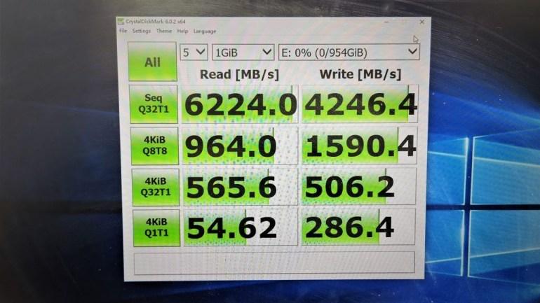 Lexar создала NVMe SSD с интерфейсом PCIe 4.0, достигающий скорости чтения 7 ГБ/с