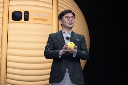 Samsung анонсировала шарообразного робота-компаньона для дома Ballie
