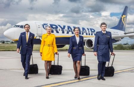 С момента начала работы в Украине лоукостер Ryanair перевез 1,3 млн пассажиров, в планах на текущий год — 2,1 млн пассажиров
