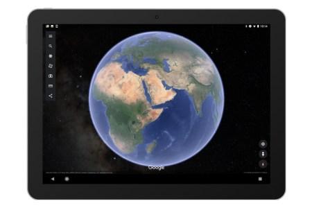 В мобильную версию Google Earth добавили отображение звёзд космического пространства