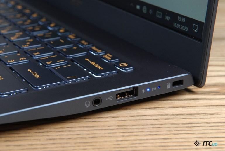 Acer Swift 5 (SF514-54T) - обзор компактного ноутбука