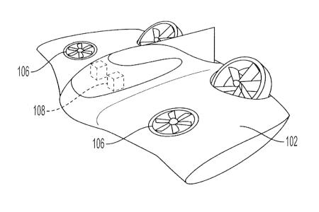 Porsche запатентовал дизайн электрического аэротакси с вертикальным взлетом и посадкой в стиле НЛО