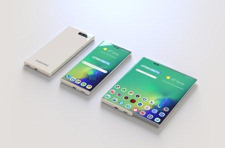 Samsung отчиталась о количестве проданных Galaxy Fold и привезла на CES 2020 прототип ещё одного гибкого смартфона