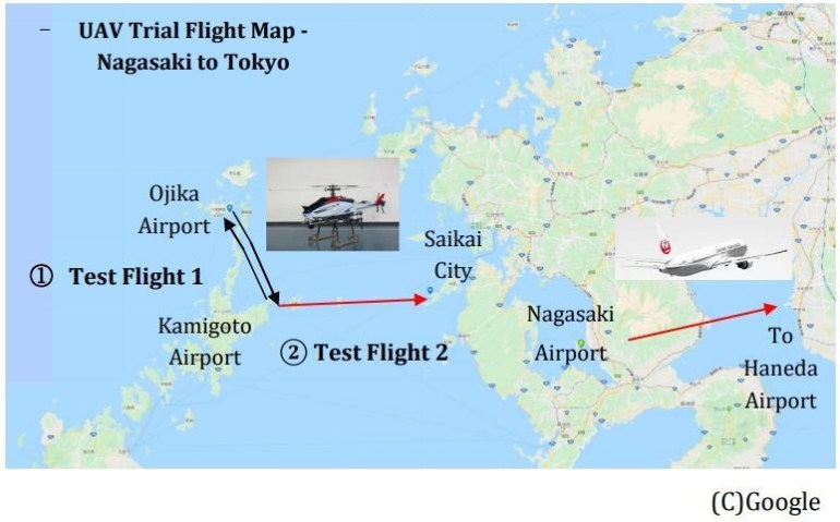 Японцы испытали беспилотный вертолет Yamaha Fazer-R G2 перевозкой свежей рыбы