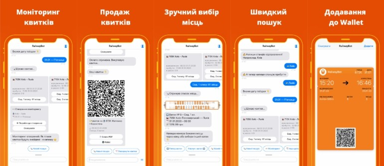 Сервис поиска ЖД билетов RailwayBot обзавелся приложениями для iOS и Android
