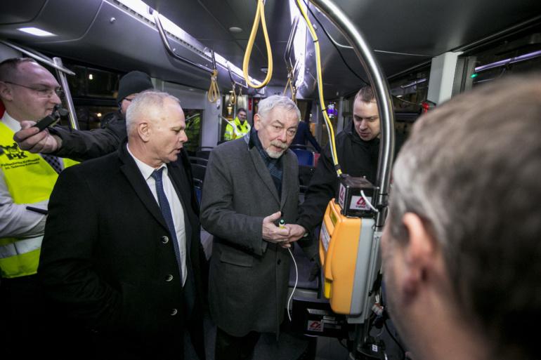 Польские инженеры из компании Newag представили беспилотный трамвай