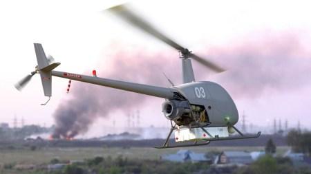 Легкий двухместный вертолет Robinson R-22 переделали в грузовой БПЛА