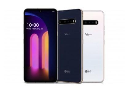 LG анонсировала флагманский смартфон V60 ThinQ 5G и новый аксессуар Dual Screen к нему