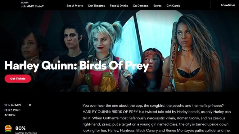 """""""Все дело в длинном неудачном названии"""": Warner Bros. попросила кинотеатры переименовать фильм о Харли Квинн в """"Harley Quinn: Birds of Prey"""" из-за провального старта проката"""