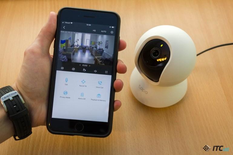 Знакомство с Wi-Fi-камерой наблюдения TP-Link Tapo C200