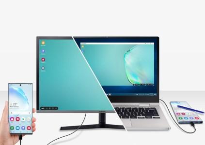 Обновление для Samsung DeX принесло улучшенную поддержку мыши и мультитач-жестов