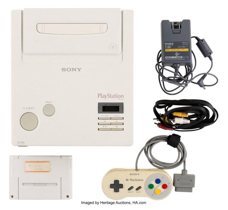 Раритетную игровую консоль Nintendo PlayStation продали за $360 тыс. на аукционе