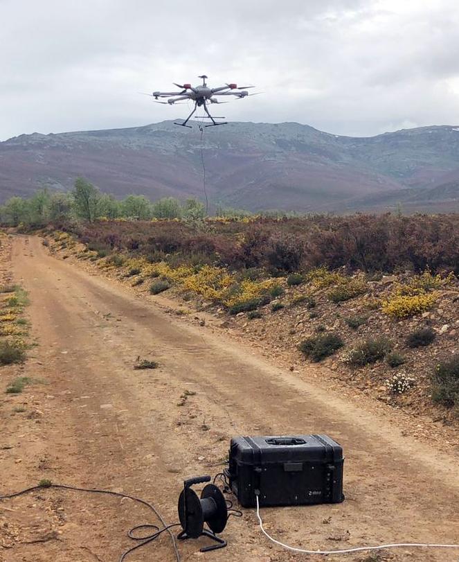 Испанские инженеры предложили использовать дроны вместо смотровых вышек