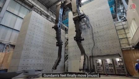 В Японии создают движущуюся статую робота Gundam в натуральную величину (18 метров)