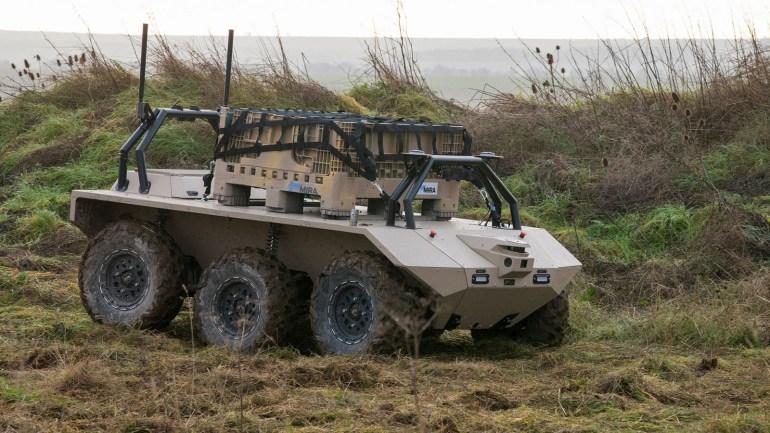 Британские военные обзаведутся наземными роботами Viking и Titan