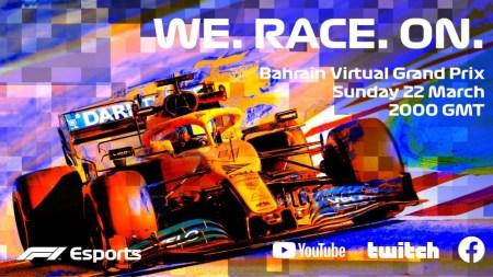 Formula 1 запустила виртуальный чемпионат F1 Esports из-за переноса первых восьми этапов, победителем Гран При Бахрейна стал китаец Гуаньюй Чжоу [видео]