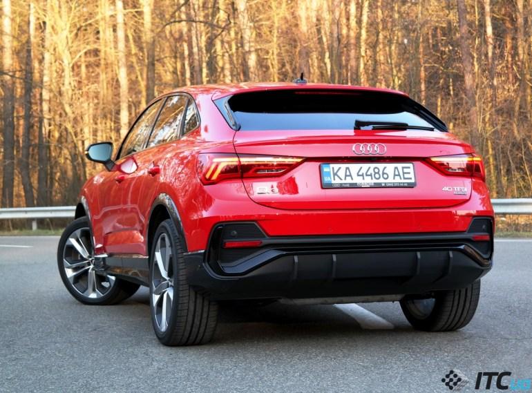 Тест-драйв Audi Q3 Sportback: «спортсменка и просто красавица»