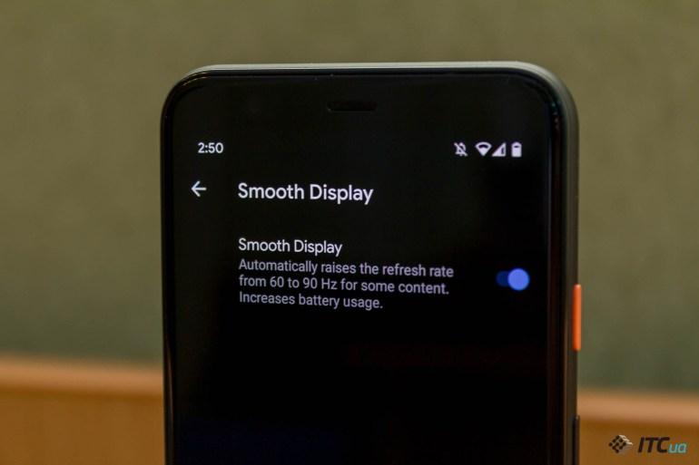 Обзор смартфона Google Pixel 4