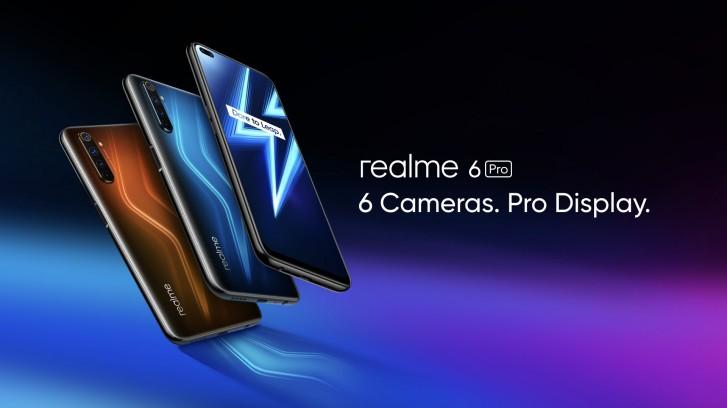 Анонсированы смартфоны Realme 6 и Realme 6 Pro и фитнес-треер Realme Band