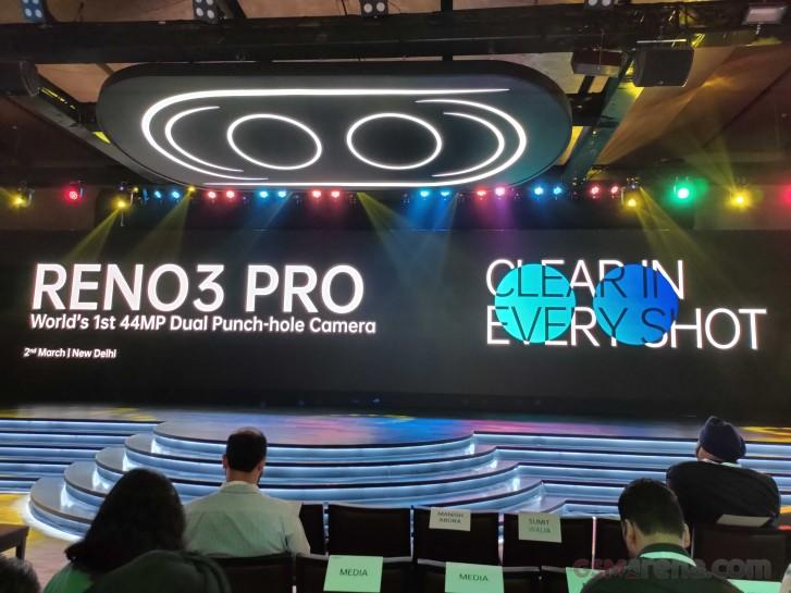 Международная версия Oppo Reno3 Pro получила SoC Helio P95 и двойную 44-мегапиксельную селфи-камеру, но лишилась поддержки 5G