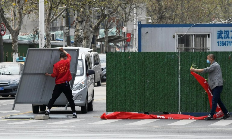 Власти Уханя объявили о начале поэтапного снятия карантина