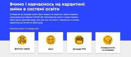 Минобрнауки запустило сайт, где можно узнать обо всех изменениях в сфере образования в связи с карантином