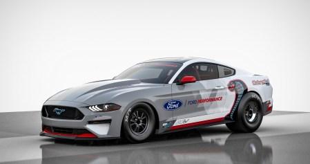 Американцы представили дрэговый электромобиль Ford Mustang Cobra Jet 1400 с мощностью 1400 л.с., способный проехать четверть мили в пределах 8 секунд