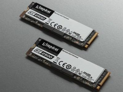 Kingston представила SSD нового поколения KC2500 в формате NVMe PCIe SSD M.2 со скоростью записи/чтения до 2900/3500 МБ/с
