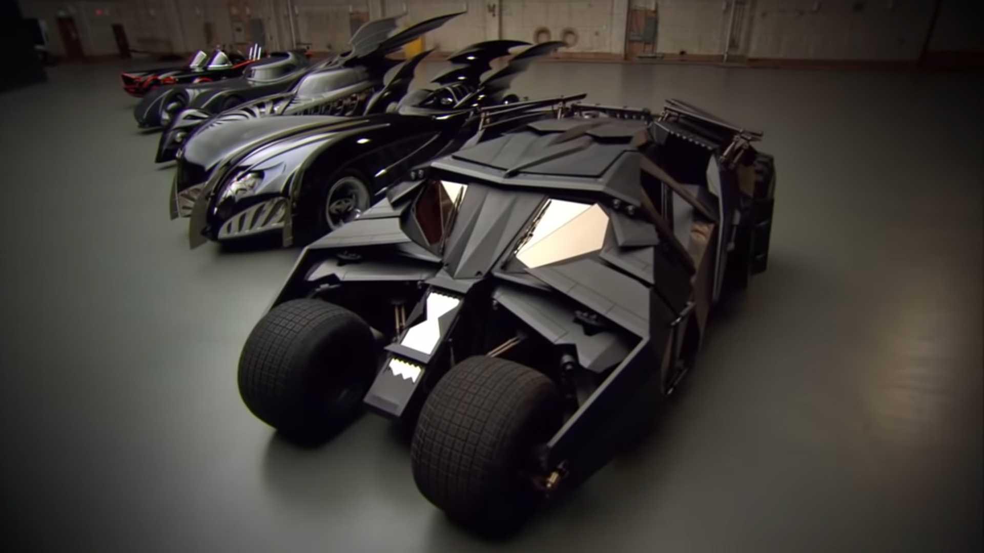 Warner Bros. бесплатно выложили в сеть документальный фильм об эволюции Бэтмобиля [видео] - ITC.ua