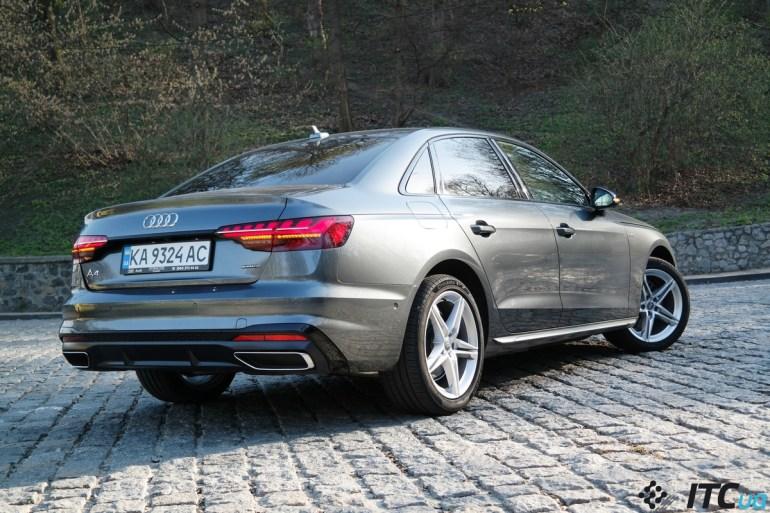 Тест-драйв Audi A4: краеугольный камень для Европы и Украины