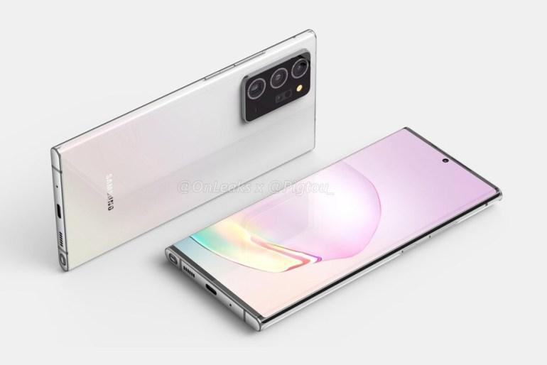 Утечка раскрыла дизайн, характеристики и функции смартфона Samsung Galaxy Note 20+