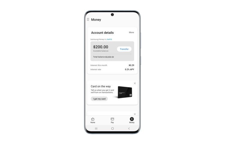 Samsung Money – дебетовая карта с интеграцией в Samsung Pay и программой лояльности Samsung Rewards