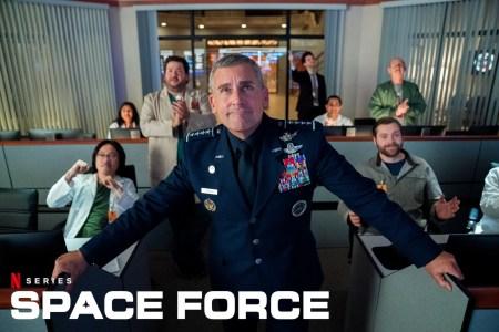 Вышел первый трейлер комедийного сериала Space Force / «Космические силы» от создателя «Офиса» со Стивом Кареллом в главной роли