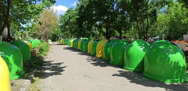 """КГГА: Киев приобрел 1000 новых контейнеров для раздельного сбора отходов, увеличив """"экологическую"""" сеть до 3,5 тыс. баков"""