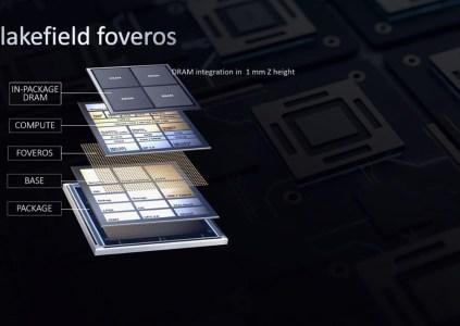 Intel анонсировала 5-ядерные гибридные процессоры Lakefield с многоуровневой компоновкой Foveros
