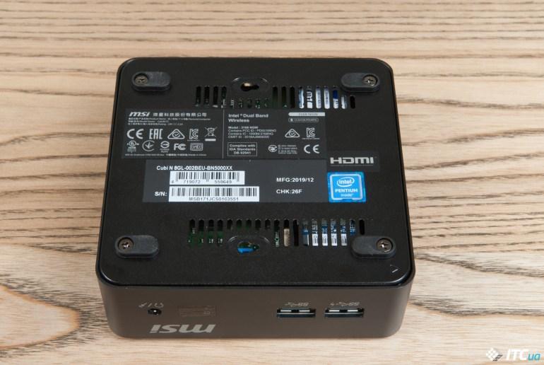 Обзор мини-десктопа MSI Cubi N 8GL