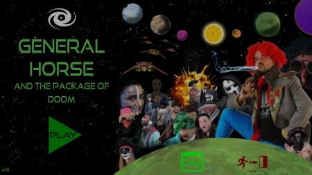 General Horse and the Package Of Doom: комическое космическое видеоприключение