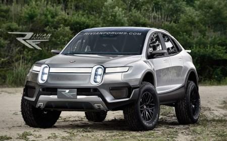 Rivian запатентовал два обозначения для новых электромобилей — R1V и R2X. Фанаты считают, что это будет минивэн и раллийный внедорожник