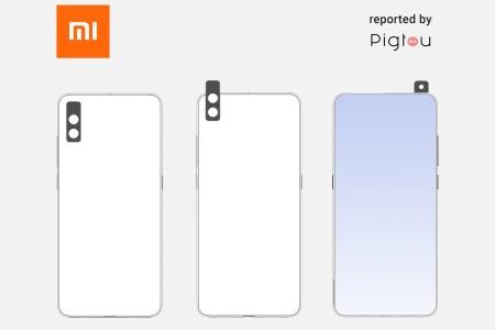 Xiaomi запатентовала новый механизм выезжающей камеры в смартфоне