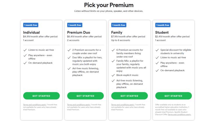 Spotify объявил о запуске в Украине — стандартная подписка будет стоить $4,99 в месяц