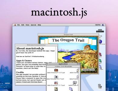 Mac OS 8 с предустановленными играми и приложениями выпустили в виде отдельного приложения для macOS, Windows и Linux