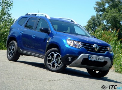 Тест-драйв Renault Duster Ultramarine: дизель, «автомат», спец-версия