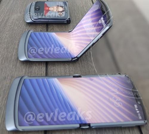 Первое изображение обновленной раскладушки Motorola Razr 2020