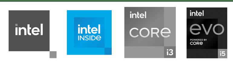 Core и Evo. Новые логотипы Intel обнаружились в базе данных патентного ведомства США