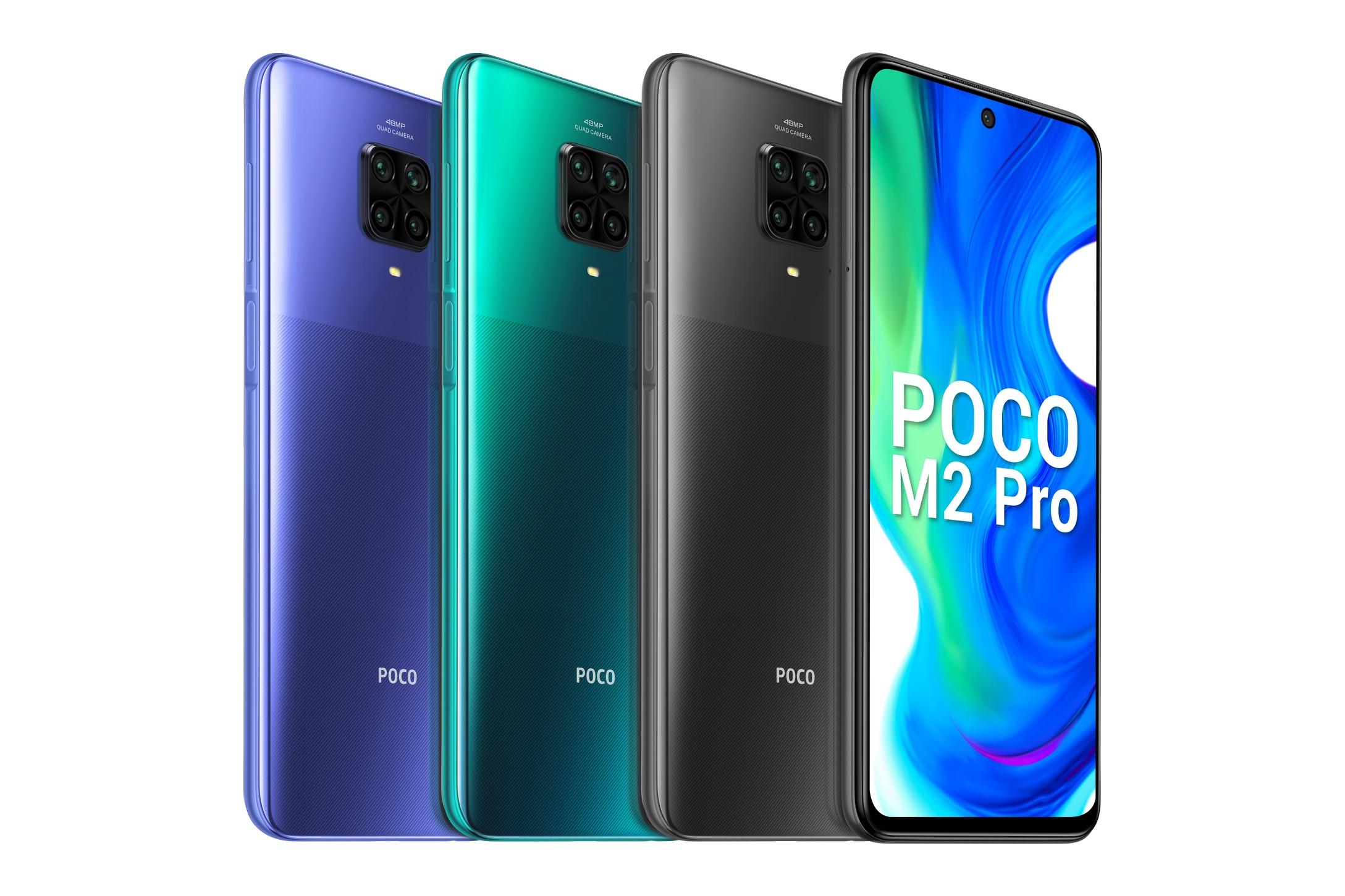 Новый бюджетник Poco M2 Pro — SoC Snapdragon 720G 5000 мА•ч и 33-ваттная зарядка при цене ниже $200