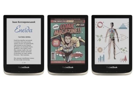 В Украине стартуют продажи ридера PocketBook 633 Color с цветным экраном E Ink Kaleido и классической модели PocketBook 628 по цене 5999 грн и 3999 грн соответственно