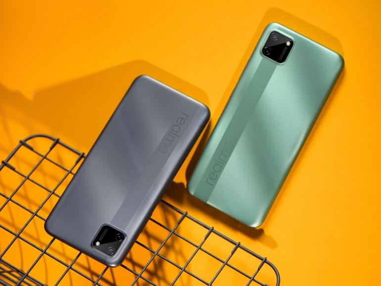 Анонсирован бюджетный смартфон realme c11 с 6,5-дюймовым экраном, процессором Helio G35 и батареей на 5000 мАч, в Украине его стоимость составит 2999 грн