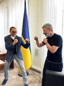 Netflix снимает в Украине комедийный боевик The Last Mercenary / «Последний наемник» с Жан-Клодом Ван Даммом в главной роли