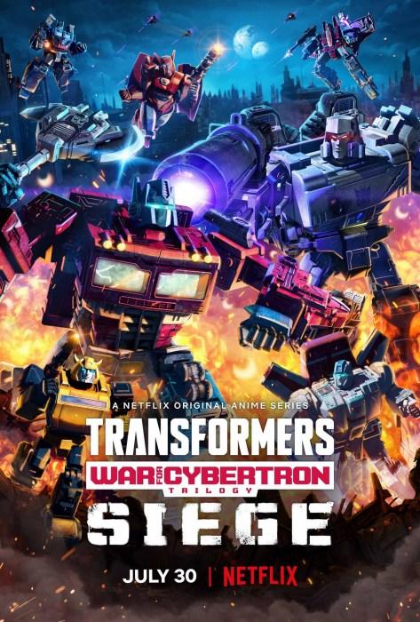 Первый сезон нового аниме-сериала Transformers: War For Cybertron Trilogy выйдет на Netflix 30 июля [трейлер]